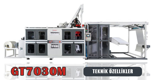 GT7030M Thermoform Machine